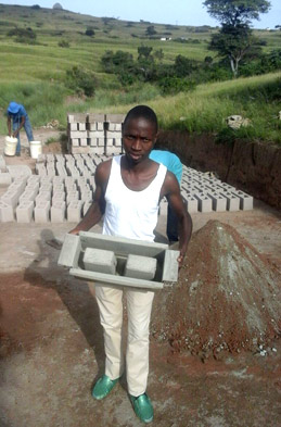 Brick making